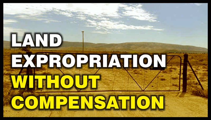 Land without compensation