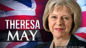 Theresa May British Prime Minister 2