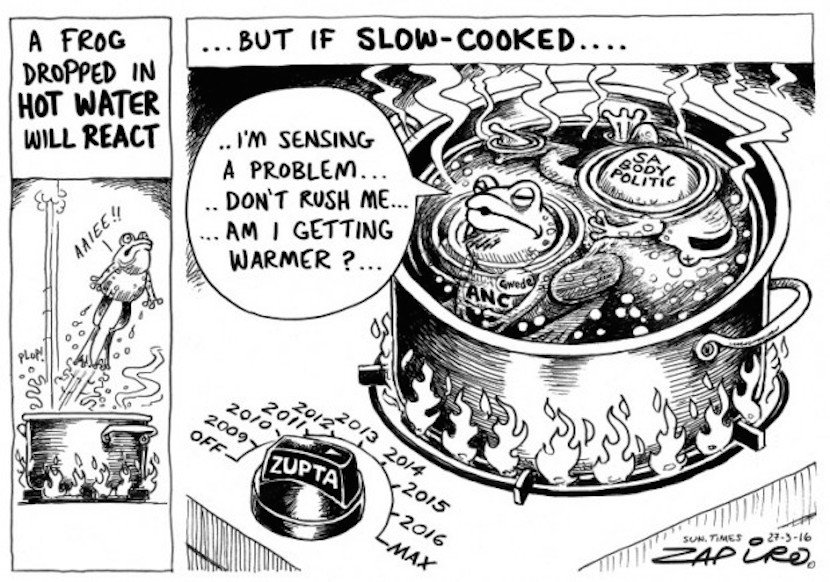 Zapiro Mantashe slow cooked April 2016